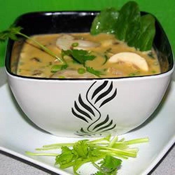 Receita de Sopa de Curry Tailandês