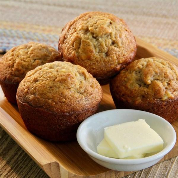 Receita final de muffins de banana