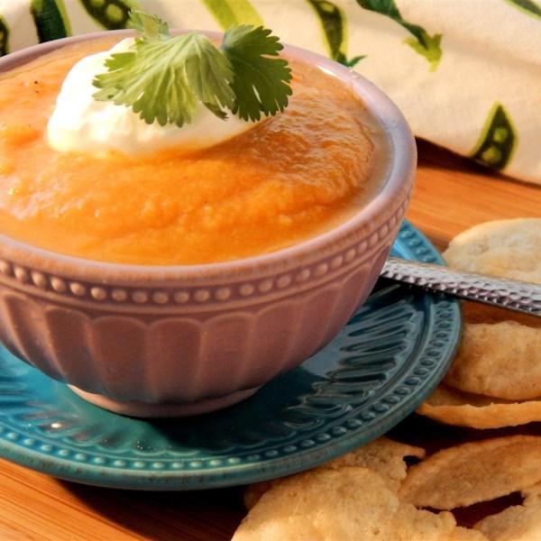 Receita fácil de sopa de couve-flor curried