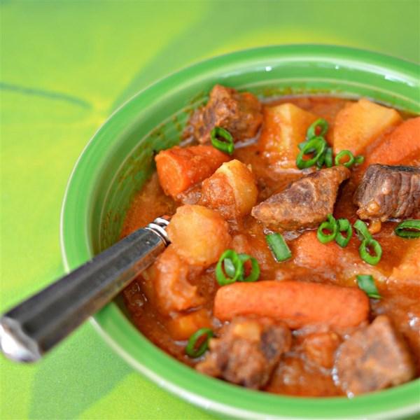 Receita tradicional de ensopado irlandês