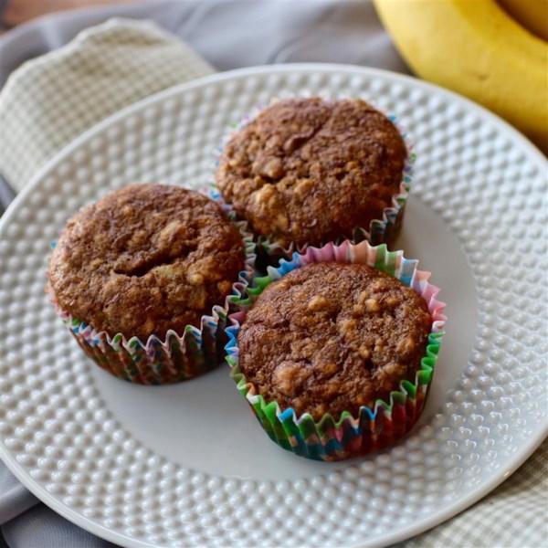 Receita de Muffins de Banana Sinfully Úmido