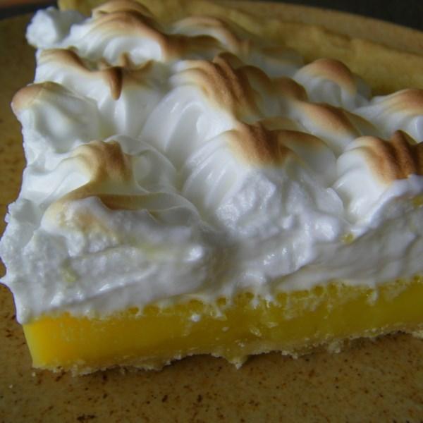 Receita de Torta de Merengue de Limão III