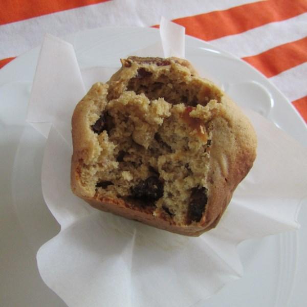 Receita de Muffins de Nozes de Natal Integral