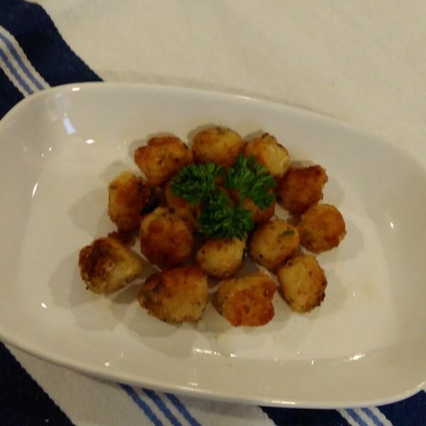 Receita de Vieiras Empanadas e Fritas