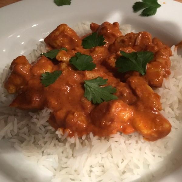 Curry Stand Frango Tikka Masala Receita de Molho
