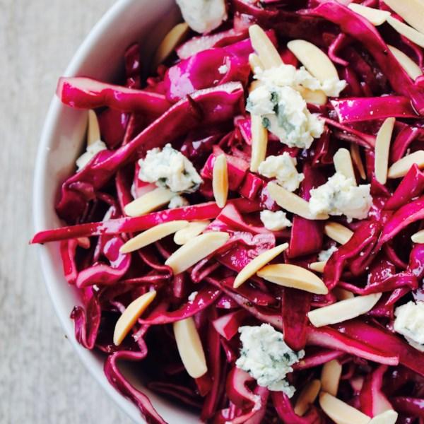 A melhor receita de salada de repolho vermelho
