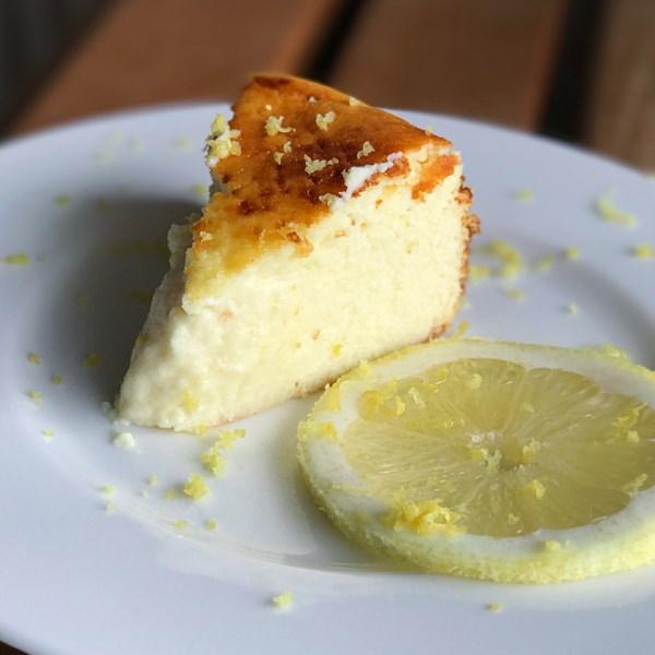 Receita de Ricota e cheesecake de limão