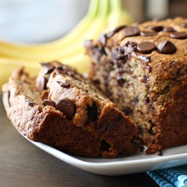 Receita de Pão de Chocolate de Banana