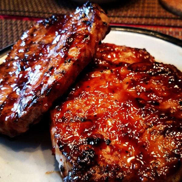 Melhor receita de costeletas de porco de alho de mel do mundo