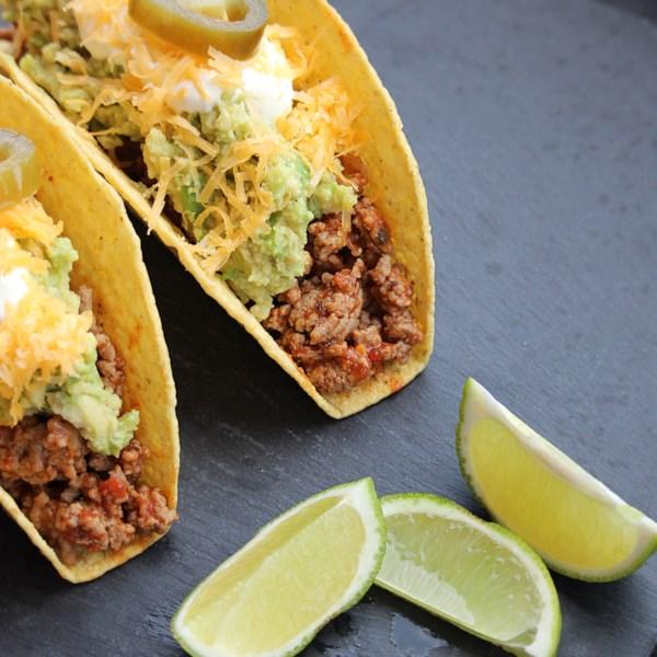 Receita de Tacos de Peru Moído Saboroso