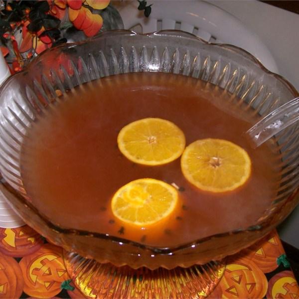 Receita de Ponche de Outono Quente e Picante