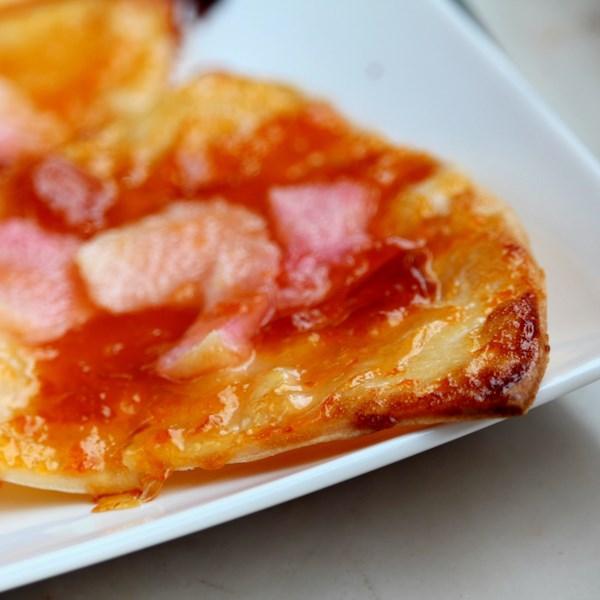 Tartlets de pêssego com receita de esmalte de damasco