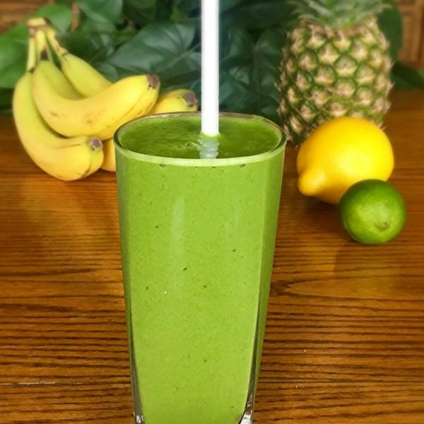 Receita de Smoothie de Energia Verde Mojito