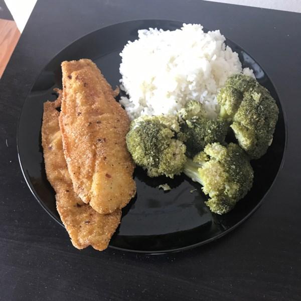 Receita de Filés Pan-Fried Swai