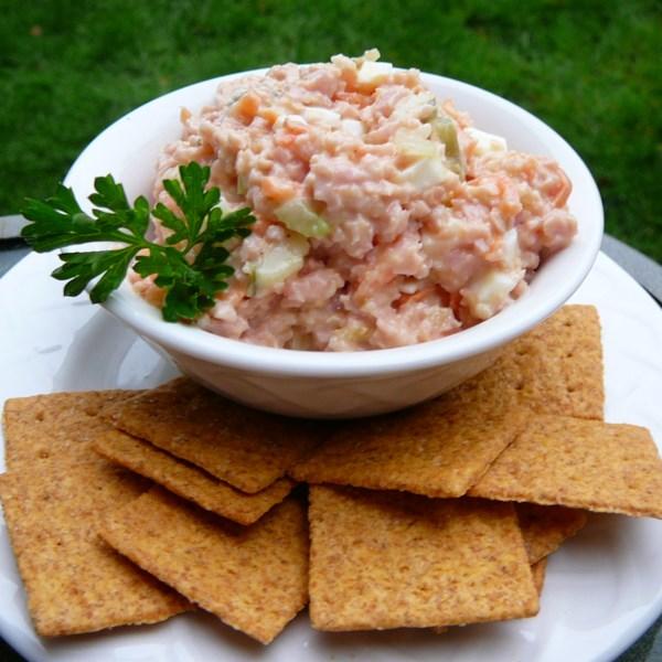 Salada de Bolonha Sanduíche Espalhar I Receita