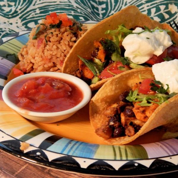Receita de Tacos Vegetarianos