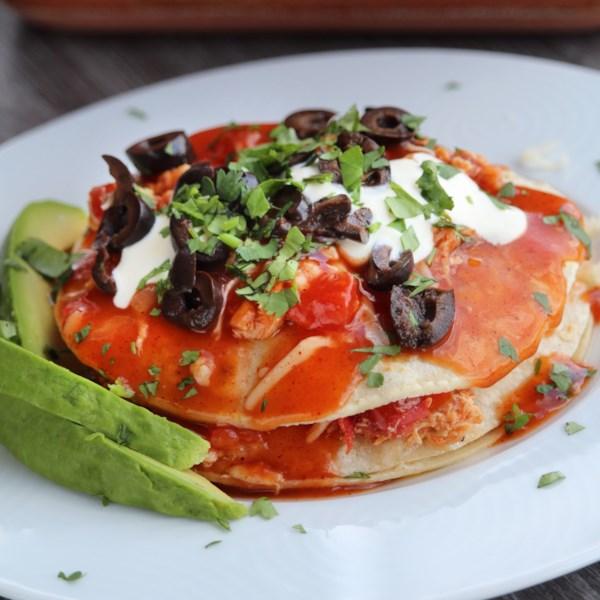Enchiladas - Receita de Estilo Novo México