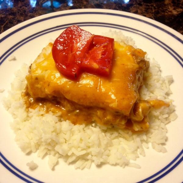 Receita de Enchiladas de Panela Lenta