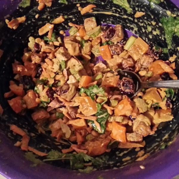 Receita de Salada de Tofu Com Curry