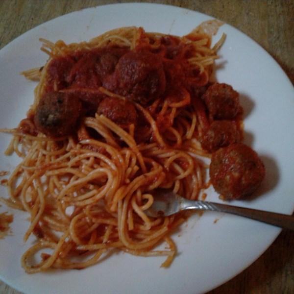 Receita de Almôndegas de Espaguete e Chipotle