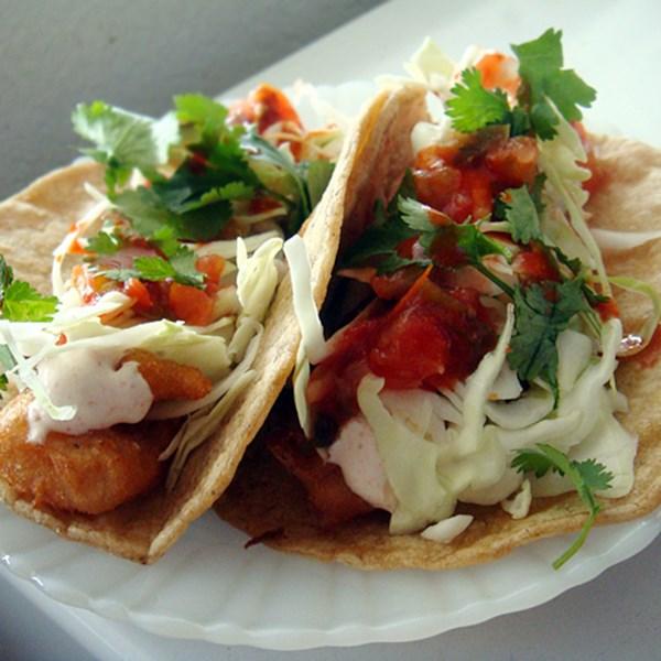 Receita de Tacos de Peixe