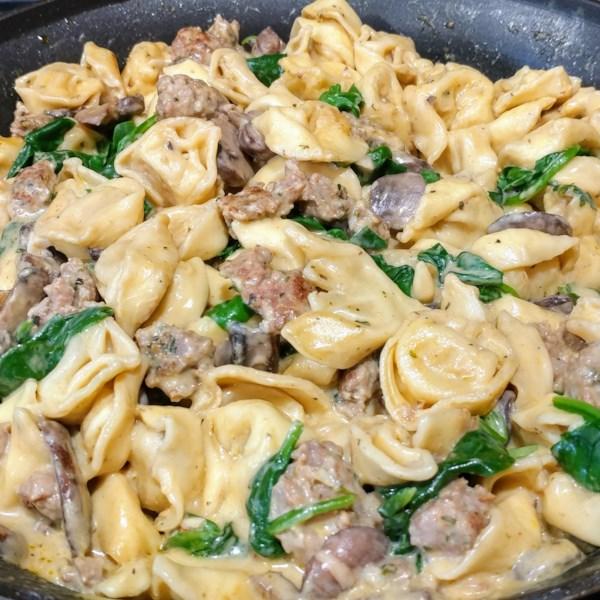 Receita de Tortellini de Salsicha Italiana