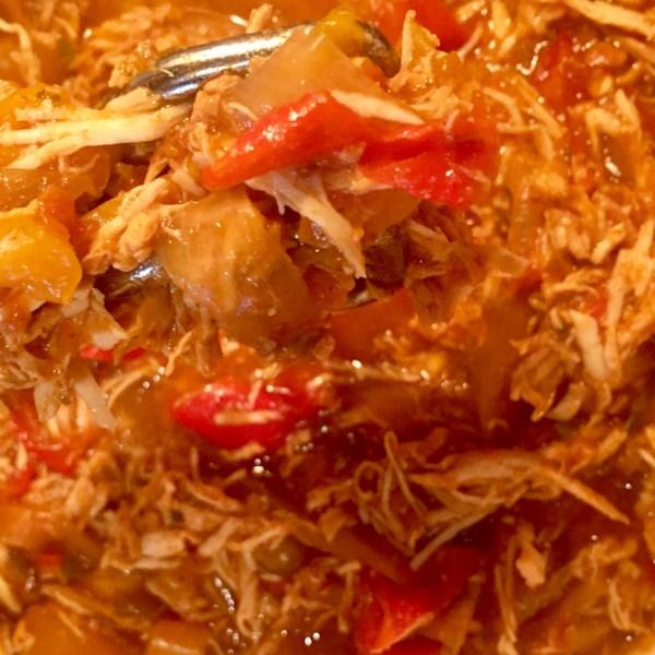 Karen's Slow Cooker Chicken Fajitas Receita