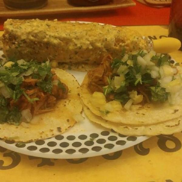 Receita de Slow Cooker Tacos al Pastor