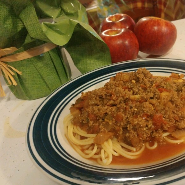 Receita de Molho de Espaguete Carnudo