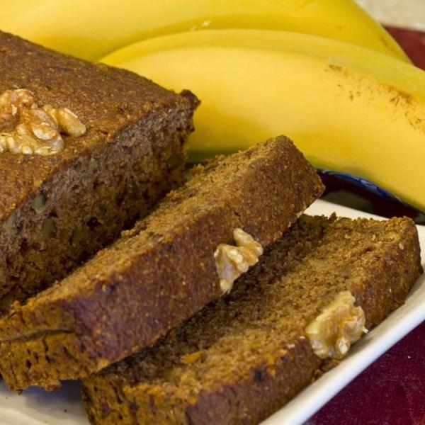 Receita de Pão de Banana Vegana Sem Glúten