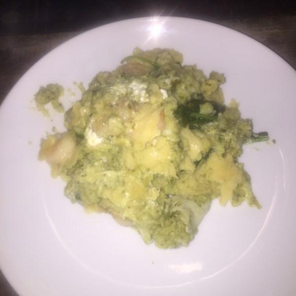 Receita de Camarão Enchiladas Suizas
