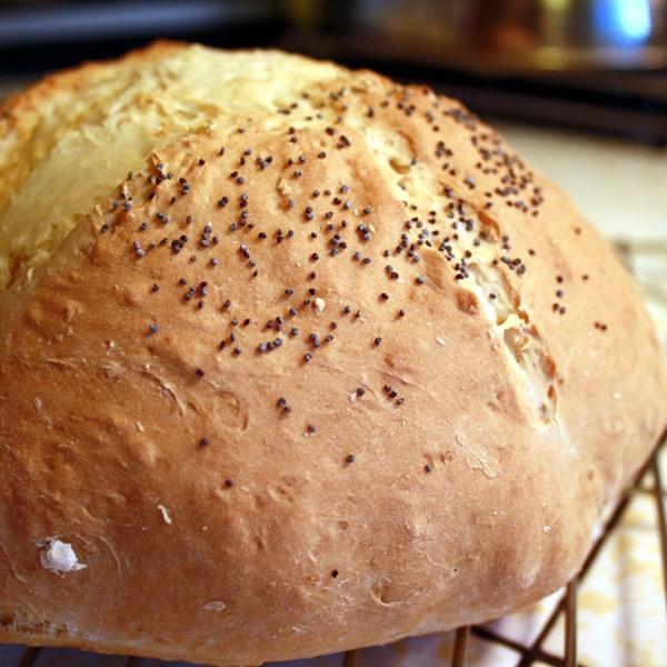 Pão de soda irlandês em uma receita de frigideira