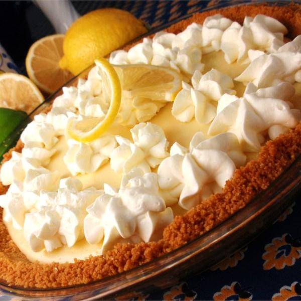 Receita de Torta de Limão Mágico