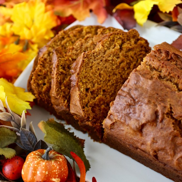 Downeast Maine Pumpkin Bread Recipe