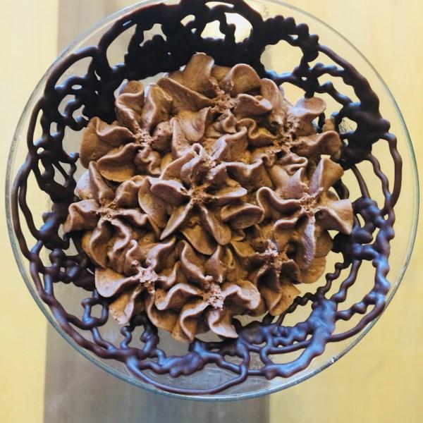 Receita de Mousse de Chocolate Tiramisu