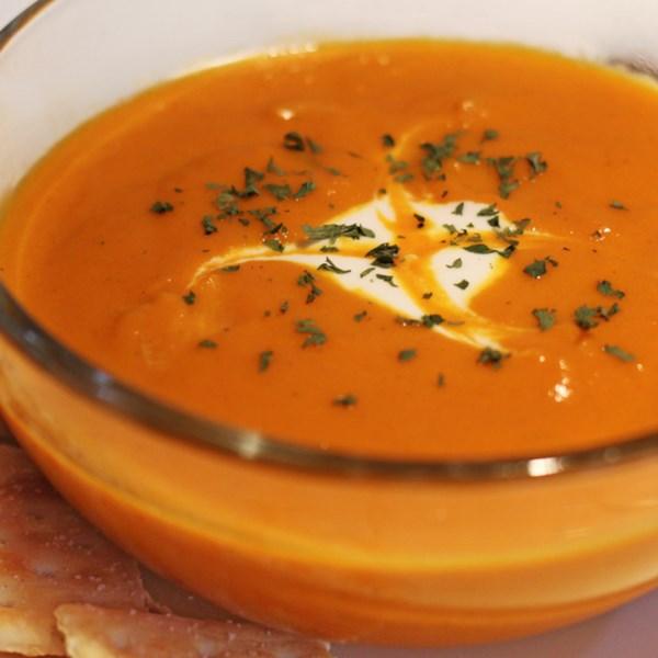 Receita de Sopa de Cenoura Com Curry