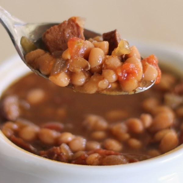 Receita de Sopa de Feijão Marinho I