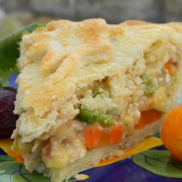 Receita de Torta de Peru da Vovó Carlson