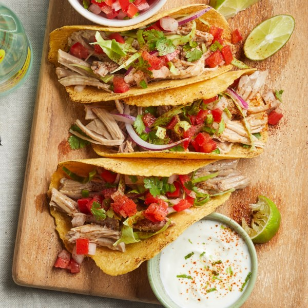 Zesty Carnitas Tacos Receita