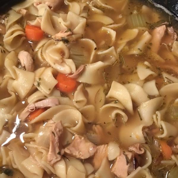 Steve's Chicken Noodle Soup Recipe