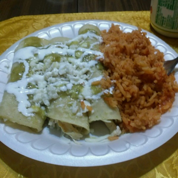 Receita Enchiladas Verdes