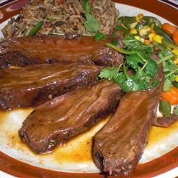 Receita de Bife de Saia De Churrasco de Bubba