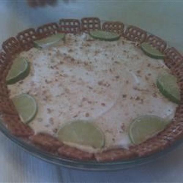 Receita de Torta de Limão e Pretzel