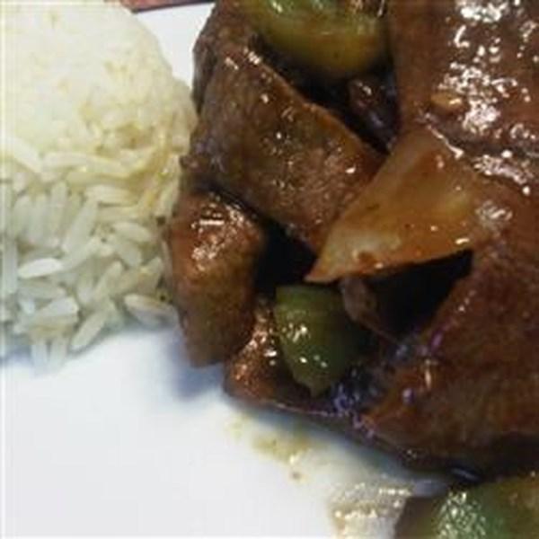 Receita de Bife de Pimenta Chinesa Kikkoman