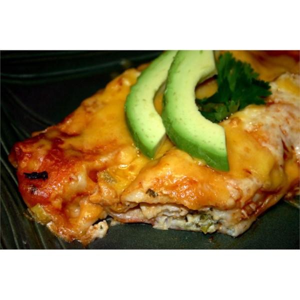 Receita de SaborosoHalibut Enchiladas