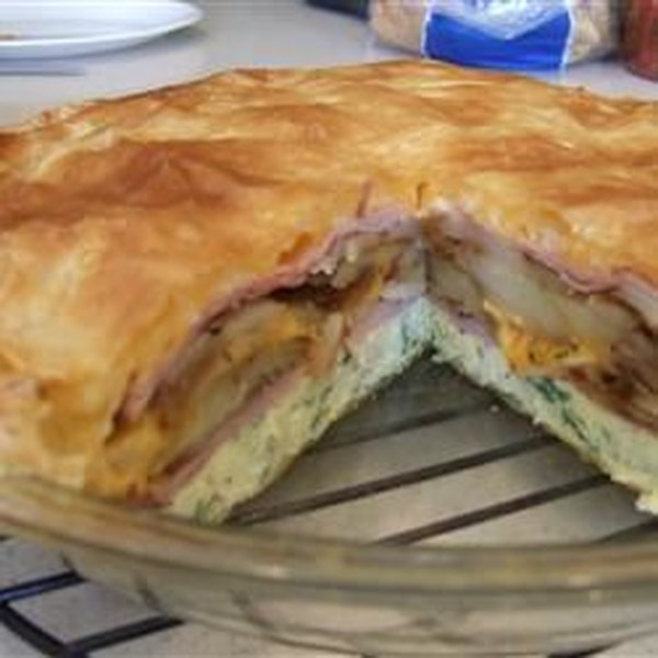 Receita de Torte de Omelete de Brunch