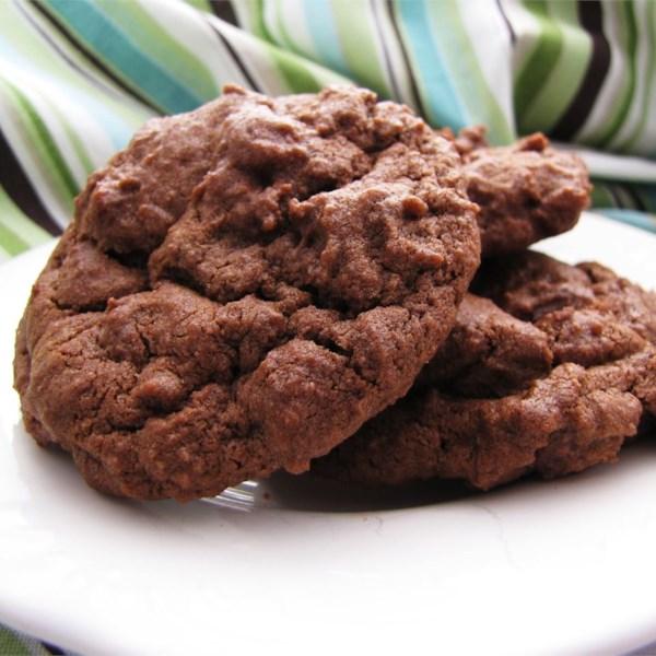 Biscoitos de chocolate de chocolate Eu Receita