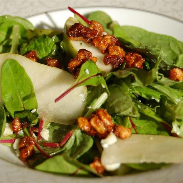 Receita de Salada de Pera Roquefort