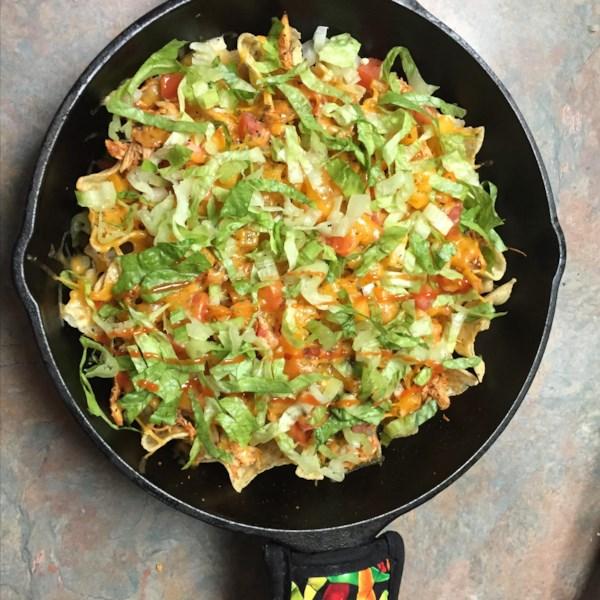 Receita de Recheio de Salsa Chicken Burrito
