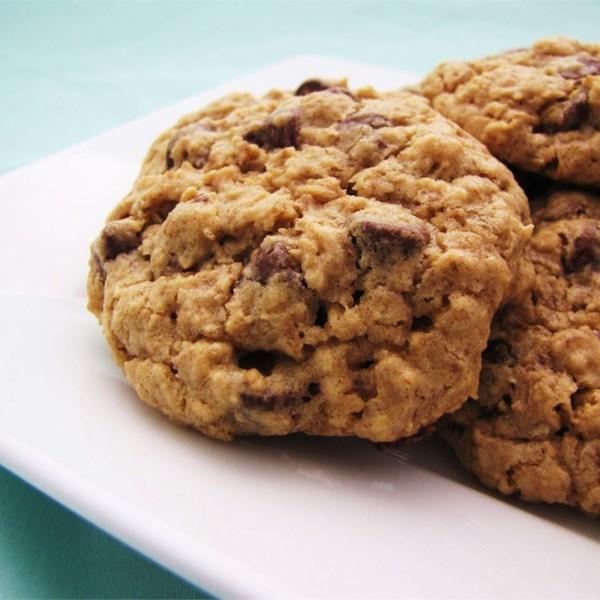 Receita de Biscoitos de Aveia de Chocolate Mastigado